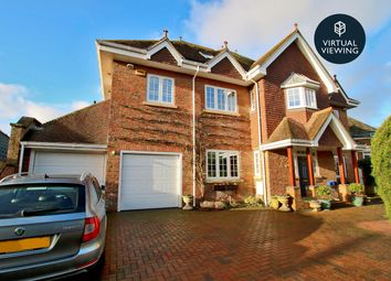 Thumbnail 5 bed detached house for sale in West Hayes, Lymington