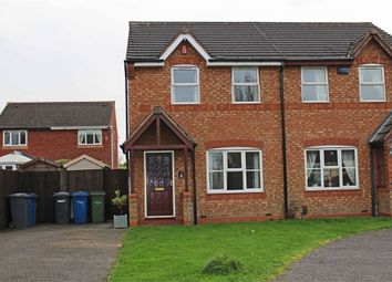 Thumbnail 3 bed semi-detached house to rent in Bracklesham Way, Amington Fields, Amington, Tamworth, Staffordshire