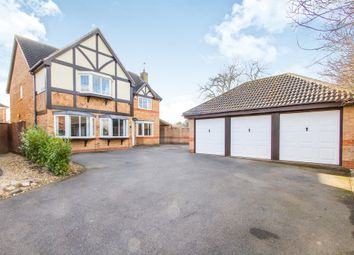 Thumbnail 5 bed detached house for sale in Avington Close, Heathley Park, Leicester