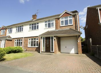 Thumbnail 5 bed semi-detached house for sale in Robert Close, Burwood Park, Hersham, Walton-On-Thames