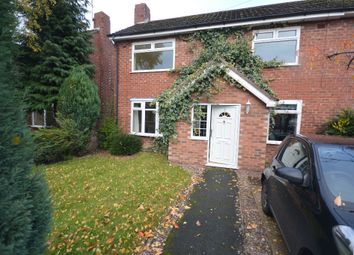 Thumbnail 2 bed semi-detached house for sale in Anson Road, Wilmslow, Cheshire