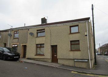 Thumbnail 3 bed end terrace house for sale in John Street, Maesteg, Bridgend.