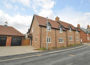 Thumbnail 3 bed semi-detached house for sale in Hill Place, Brington, Huntingdon, Cambridgeshire