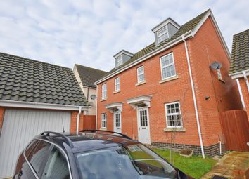 Thumbnail 3 bedroom semi-detached house to rent in Bishy Barnebee Way, Norwich