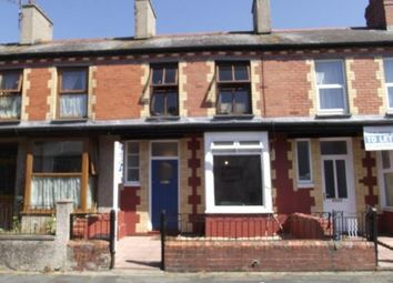 Thumbnail 2 bed terraced house for sale in Orme Road, Bangor, Gwynedd
