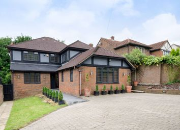 Thumbnail 5 bed detached house to rent in Barnet Gate Lane, Arkley