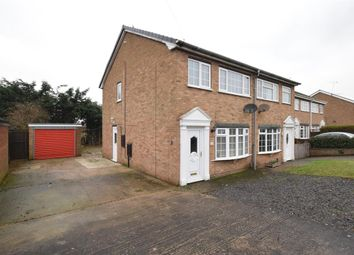 Thumbnail 3 bedroom semi-detached house for sale in Goodwood, Scunthorpe