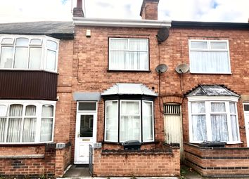 Thumbnail 3 bed terraced house for sale in Nansen Road, Leicester