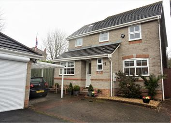 Thumbnail 4 bed detached house for sale in Hale Close, Hanham