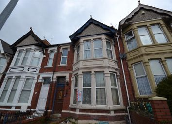 Thumbnail 4 bedroom terraced house for sale in Gladstone Road, Barry