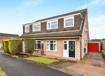 Thumbnail 3 bed semi-detached house for sale in Catterick Drive, Mickleover, Derby