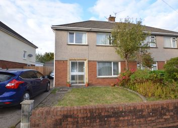 Thumbnail 3 bed semi-detached house for sale in Heol Erwin, Cardiff
