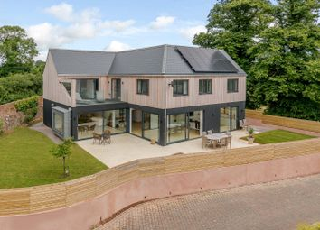 Thumbnail 4 bed detached house for sale in Courtlands Lane, Lympstone, Exmouth, Devon