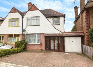 Thumbnail 4 bed semi-detached house for sale in Kings Way, Harrow, Middlesex