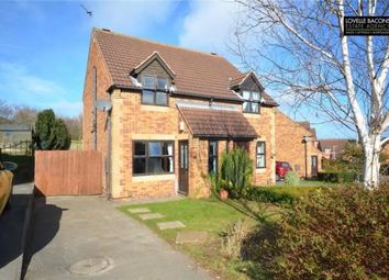 Thumbnail 2 bed semi-detached house for sale in Foxglove Gardens, Grimsby
