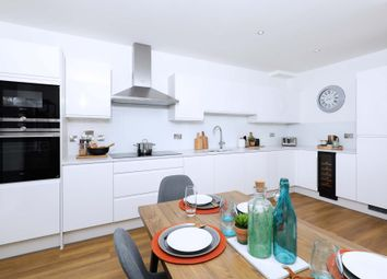 Thumbnail 3 bedroom flat for sale in Royal Albert Wharf, The Royal Docks, London