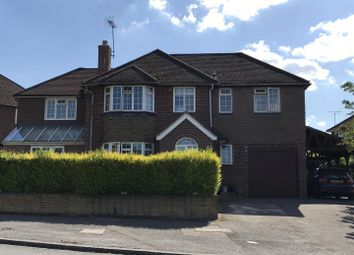 Thumbnail 5 bed detached house for sale in Priory Road, Newbury