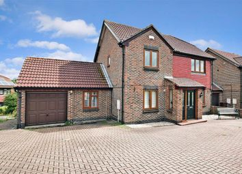 Thumbnail 4 bed link-detached house for sale in Peal Close, Hoo, Rochester, Kent