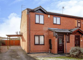Thumbnail 3 bed semi-detached house for sale in Elizabeth Close, Gainsborough