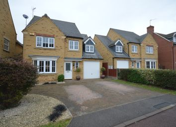 Thumbnail 5 bed detached house to rent in Sedge Close, Thrapston, Kettering