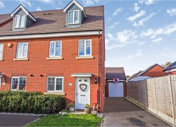 Thumbnail 3 bed semi-detached house for sale in Dawn Close, Wollaston, Stourbridge