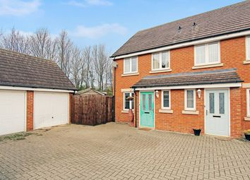 Thumbnail 3 bed end terrace house for sale in Fox Hedge Way, Sharnbrook, Bedford
