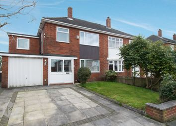Thumbnail 4 bed semi-detached house for sale in Crescent Avenue, Over Hulton, Bolton
