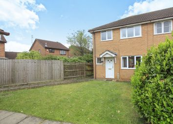 Thumbnail 3 bed end terrace house for sale in Bowness Way, Peterborough
