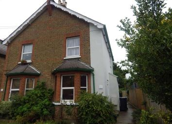 Thumbnail 1 bed flat to rent in Egmont Road, Tolworth, Surbiton