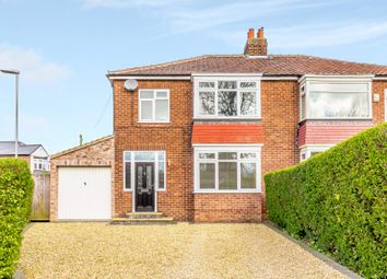 Thumbnail 4 bed semi-detached house for sale in South View, Eaglescliffe, Stockton-On-Tees