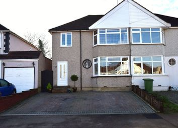 Thumbnail 3 bedroom semi-detached house for sale in Holmsdale Grove, Bexleyheath