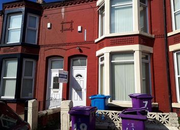 Thumbnail 1 bedroom terraced house to rent in Langton Road, Wavertree, Liverpool