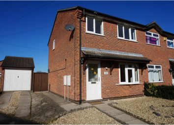 Thumbnail 3 bed semi-detached house for sale in Wheatlands, Swadlincote