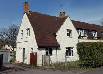 Thumbnail 3 bed end terrace house for sale in Campers Avenue, Letchworth Garden City
