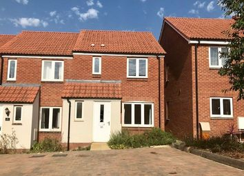 Thumbnail 3 bed end terrace house to rent in Morgan Sweet, Cranbrook, Exeter
