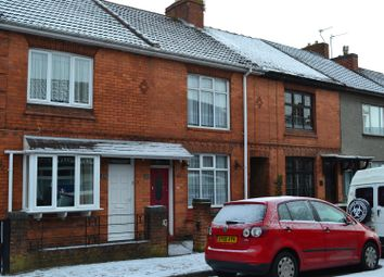 Thumbnail 3 bed terraced house for sale in Crescent Road, Hugglescote, Leicestershire
