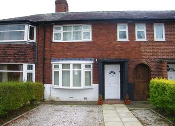 Thumbnail 3 bed terraced house to rent in Longshaw Street, Warrington