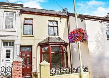 Thumbnail 2 bed terraced house for sale in Pen-Y-Fai Road, Aberkenfig, Bridgend.