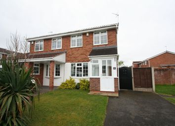 Thumbnail 2 bed semi-detached house for sale in Brompton Drive, Brierley Hill