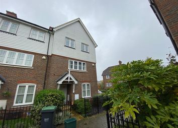 Thumbnail 4 bed end terrace house for sale in Sunrise Way, Kings Hill, West Malling, Kent