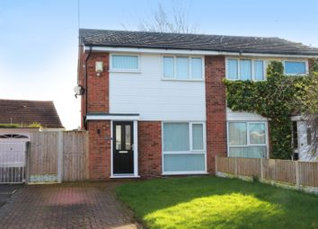 Thumbnail 3 bed semi-detached house for sale in Amberley Avenue, Moreton, Wirral