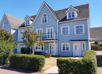 Thumbnail 4 bed town house for sale in David Newberry Drive, Lee-On-The-Solent