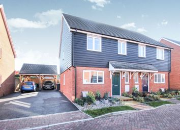 Thumbnail 3 bed semi-detached house for sale in Arable Drive, Dover