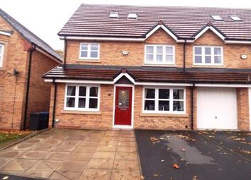 Thumbnail 4 bedroom semi-detached house for sale in Blyton Lane, Salford, Greater Manchester
