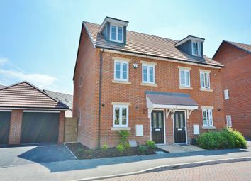 Thumbnail 3 bed town house for sale in Yew Tree Crescent, Didcot