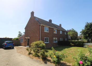 Thumbnail 3 bed semi-detached house for sale in Westfields, Tilney St. Lawrence, King's Lynn