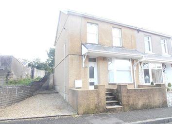 Thumbnail End terrace house for sale in Broniestyn Terrace, Hirwaun, Aberdare
