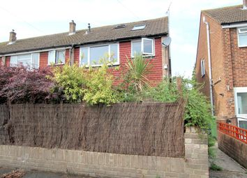 Thumbnail 4 bed end terrace house for sale in Burbidge Road, Shepperton