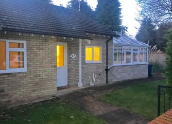 Thumbnail 2 bedroom detached bungalow to rent in Poplar Close, Great Shelford, Cambridge