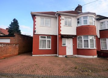 Thumbnail 6 bedroom end terrace house for sale in Longfield Gardens, Wembley, Middlesex